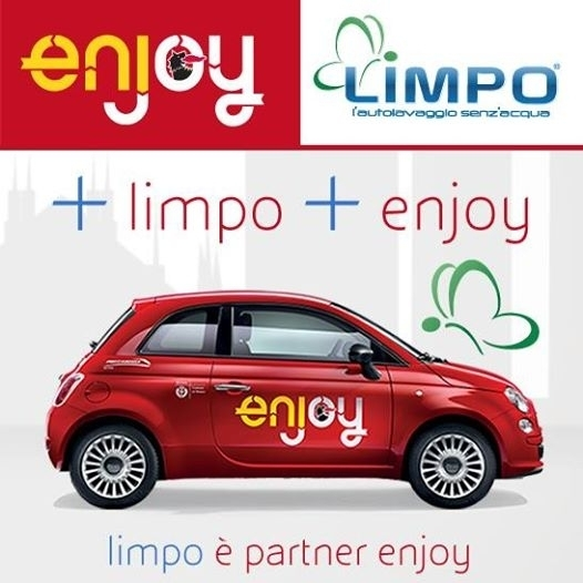 LIMPO E' PARTNER ENJOY - PIERREROMA  DRY WASH